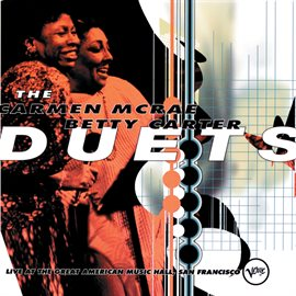 Cover image for The Carmen McRae - Betty Carter Duets