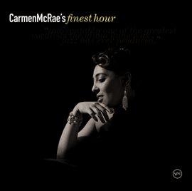 Cover image for Carmen McRae: Finest Hour