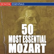 50 most essential mozart cover image