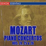 Mozart: piano concertos nos. 24-26 cover image