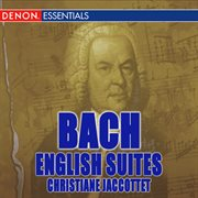 Bach: english suites cover image