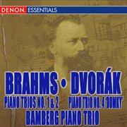 Brahms: Piano Trios Nos. 1 & 2 - Dvork̀: Trio No. 4 'dumky'