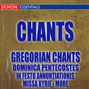 Gregorian chants cover image