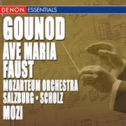 Gounod: faust ballet music - ave maria cover image