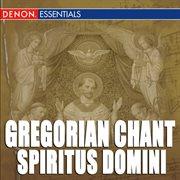 Gregorian chant: spiritus domini cover image