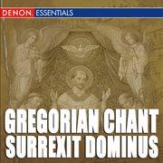 Gregorian chant: surrexit dominus cover image
