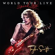 Speak now: world tour live cover image