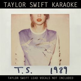 Cover image for Taylor Swift Karaoke: 1989