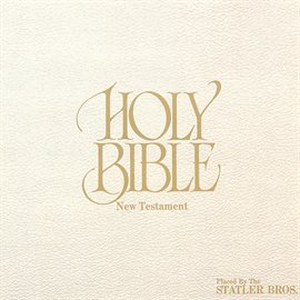 Cover image for Holy Bible - New Testament