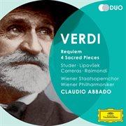 Verdi : Requiem, 4 sacred pieces cover image