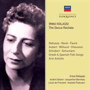 Irma kolassi - the decca recitals cover image