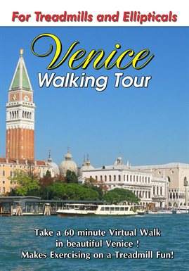Recorrido virtual a pie por Venecia, portada del libro