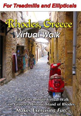 Paseo virtual de Rodas, Grecia, portada del libro