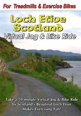 Loch Etive, Escocia Virtual Jog & Bike Ride, portada del libro