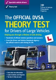 The official DVSA theory test for drivers of large vehicles cover image