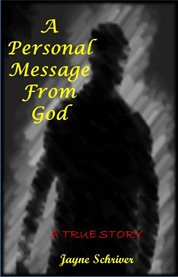 A personal message from god cover image