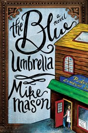 The blue umbrella a novel cover image