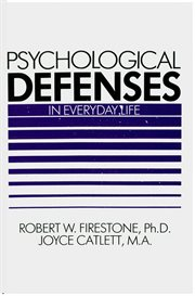 Psychological defenses in everyday life cover image