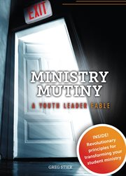 Ministry mutiny: a youth leader fable cover image