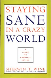 Staying sane in a crazy world cover image