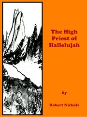 The high priest of hallelujah cover image