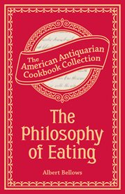 The Philosophy Of Eating
