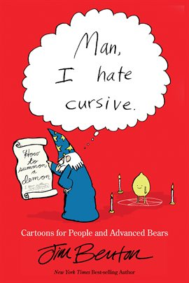 Cover image for Man, I Hate Cursive