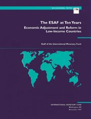 The ESAF at Ten Years