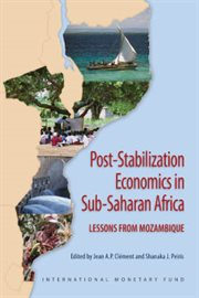 Post-stabilization Economics in Sub-Saharan Africa
