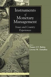 Instruments of Monetary Management