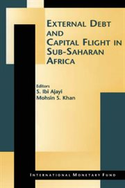 External Debt and Capital Flight in Sub-saharan Africa