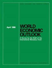 World Economic Outlook, May 1986 (english)