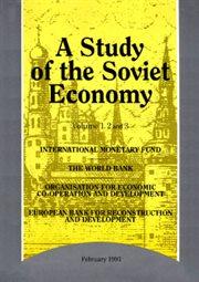 A Study of the Soviet Economy: 3-volume Set