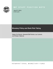 Monetary Policy and Bank Risk-taking