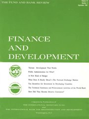 Finance and Development, September 1967