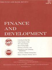 Finance and Development, Volume 4, Number 4