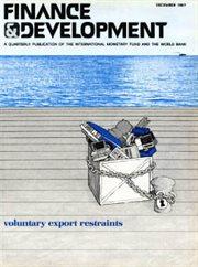 Finance and Development, December 1987