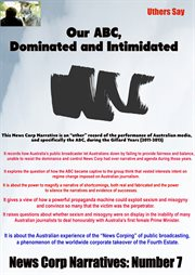 Our abc, dominated and intimidated cover image