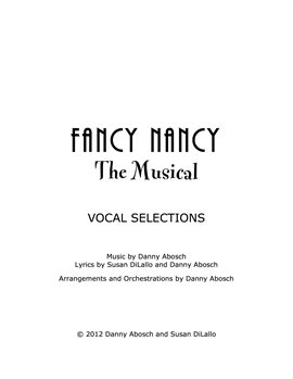Cover image for Fancy Nancy the Musical
