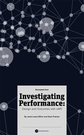 Excerpts From) Investigating Performance