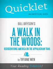 Quicklet on Bill Bryson's A Walk in the Woods