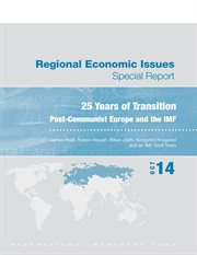 Regional Economic Issues--Special Report 25 Years of Transition