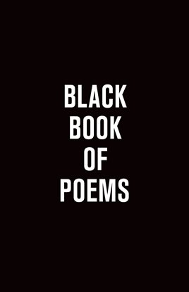 Cover image for Black Book of Poems