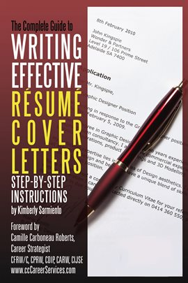 Cover image for Complete Guide to Writing Effective Resume Cover Letters