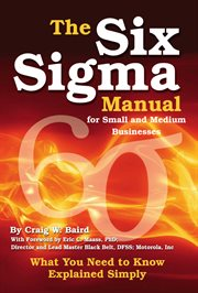 The Six Sigma Manual for Small and Medium Businesses