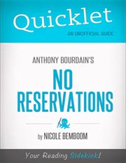 Anthony Bourdain's No reservations cover image