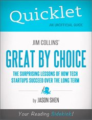 Jim Collins' Great by Choice
