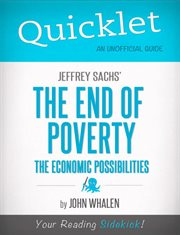Quicklet on Jeffrey Sachs' the End of Poverty