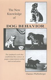 The new knowledge of dog behavior cover image