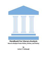 Handbook for Literary Analysis